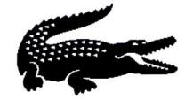 Lacoste-Krokodil